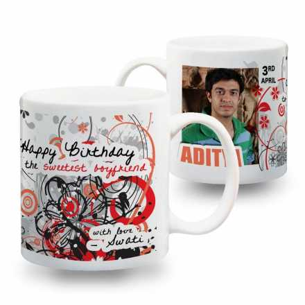 Boyfriend Birthday Mug