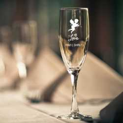 Personalized Champagne Glass | Wife Husband Gift