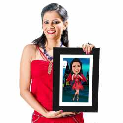 Devil - Caricature Photo Frame