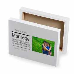 Marriage - Photo Canvas