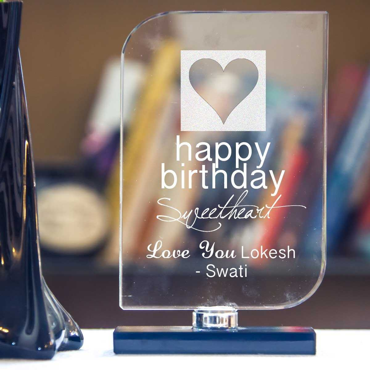 Personalized Gifts For Boyfriend Birthday India