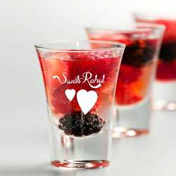 valentines gift - shot glasses personalized