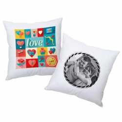 Personalized printed cushions